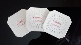 Cartier Carat Parfum Billet Lot De 3 - Modern (from 1961)