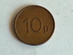 JETON Token JPM 10p - Tokens & Medals