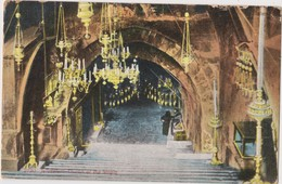 ISRAEL (Palestina) -   JERUSALEM -  Church Of The Virgin  Old Postcard - Circulated  1931 - Israel
