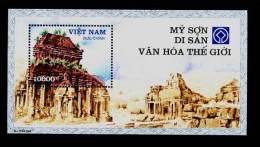 Vietnam Viet Nam MNH Perf Withdrawn Souvenir Sheet 2003 : My Son - The World Culture Heritage (Ms914B) - Vietnam