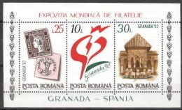 Rumänien Block 272 ** Postfrisch - Blocks & Kleinbögen