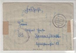 Feldpost Von FP Nr. 17050 - Res.Gren.Rgt. 260 20.6.44 Goes/Seeland (Niederlande) - Deutschland
