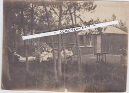 KAPELLEN-CAPELLEN-WOLVENBOSCH-1905-BLOKHUT-HANGMAT-FONOGRAAF-ORIGINELE FOTO+-12 OP 16.5 CM-UNIEK ARCHIEFSTUK ! ! ! - Kapellen