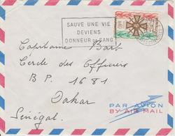 Enveloppe Timbre 1965 - France