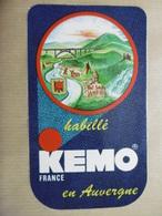 """En AUVERGNE """"habillé KEMO France"""" - Autocollant Marque Vêtement Mode Et Province Auvergne - Stickers"""