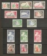 ZANZIBAR 1957 SET SG 358/372 LIGHTLY MOUNTED MINT Cat £45 - Zanzibar (...-1963)