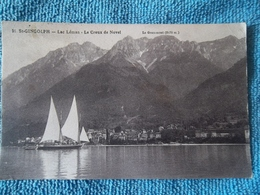 Saint Gingolph Lac Léman - Le Creux De Novel Carte écrite En 1925 - Other Municipalities