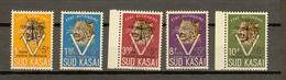 Zuid-Kasai Ocb Nr:  20B - 24B ** MNH  (zie Scans) - South-Kasaï
