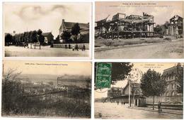 Lot 10 CPA & CPSM France  / Sallaumines, Creil, La Bassée, Athies-sur-Laon ... / A Voir !!! - Cartes Postales