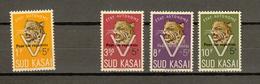 Zuid-Kasai Ocb Nr:  20C - 24C ** MNH  (zie Scans) SANS LE 21C - Sud-Kasaï