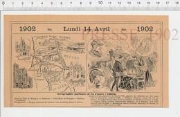2 Scans Carte Géographique Département CHER Jacques Coeur Roi Louis XI Charles VII Macdonald Sancerre Canon Berry PF222D - Old Paper