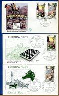 ITALIA - FDC  1981 - EUROPA - MAROSTICA - SIENA - 6. 1946-.. Repubblica