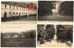 Lot 10 CPA & CPSM France  / Nogent-l'Artaud, Compiègne, Liancourt, Wormhout, Maubeuge ... / A Voir !!! - Cartes Postales