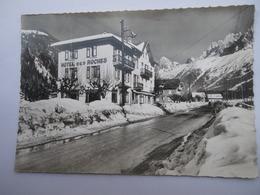 CPSM 74 - LES HOUCHES ET LA CHAINE DU MONT BLANC - Les Houches