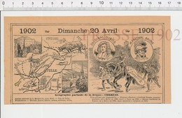 Carte Géographique Département Corrèze Couvent Margeride Cardinal Dubois Maréchal Brune Duguesclin Ussel Tulle PF222D - Old Paper