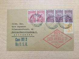ZEP Brasilien 1931 DOX-Flug Europa - Südamerika Brief Von Parana Nach Berlin Via USA - Brazil