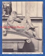 Photo Ancienne - FIRENZE , Italia - Monumento A Giuliano De Medici - Art Historia Florence - Anciennes (Av. 1900)