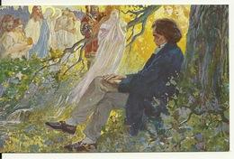 L. VAN BEETHOVEN COMPOSANT SES SYMPHONIES Par L. BALESTRIERI - Peintures & Tableaux