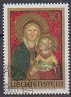 Lichtenstein 1973 MiNr. 595 O Gest. Weihnachten ( 6246 )günstige Versandkosten - Liechtenstein