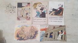 SUPER LOT 61 CARTES POSTALES ANCIENNES - ILLUSTRATEURS-MILITARIA- HUMOUR...TOUTES SCANNEES - DEPART 1 EURO - À VOIR - - Cartes Postales