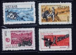 North Vietnam Viet Nam MNH Perf Stamps 1964 : 10th Anniversary Of Dien Bien Phu Victory (Ms144) - Vietnam