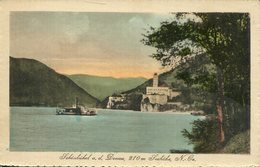 005542  Schönbühel A. D. Donau Mit Schloss Und Raddampfer - Österreich