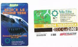 TELECOM ITALIA - OMAGGIO PRIVATE - C.&C. 3407 - 1996 VILLA ERBA, COMO: ELIO E LE STORIE TESE (SQUALO)      2.000 - NUOVA - Italy