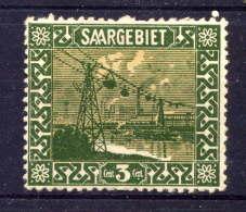 SARRE  - 83* - TRANSBORDEUR SUR LA SARRE - 1920-35 Saargebiet – Abstimmungsgebiet