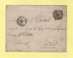 Nouvelle Caledonie - Noumea - Paquebot Noumea A Marseille - 11 Fevr 1903 - Briefe U. Dokumente