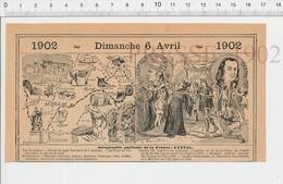 Carte Géographique Département Cantal Dentelles Roi Charles VII Aurillac Pape Sylvestre II Chappe (Abbé) Dentiste PF222D - Old Paper