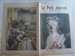 Le Petit Journal 1892 15 Octobre 99 Princesse De Lamballe Siège De Lille - 1850 - 1899