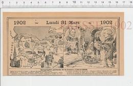 Carte Géographique Département Calvados Dentelle Pommes Cidre Bonneterie Malherbe Famine Lisieux Marquis Laplace PF222D - Old Paper