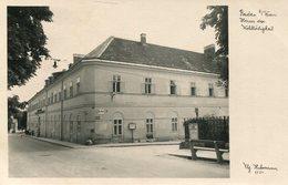 005549  Baden Bei Wien - Haus Der Wohltätigkeit - Baden Bei Wien