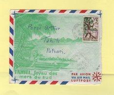 Polynesie - Iles Marquises - Atuona Hiva Oa - 21-2-1963 - Polynésie Française