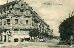 Cpa STRASBOURG - Rue De Hohenlohe - Blumenhalle Germania - Strasbourg