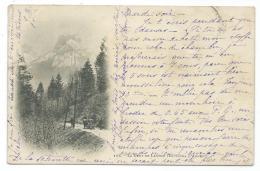 CPA PRECURSEUR ENVIRONS D'ANNECY, LA DENT DE LANFON, HAUTE SAVOIE 74 - Annecy