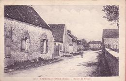 CPA - 02 - MAREUIL EN DOLE - Route De Nesles - 426.3 - RARE !!!!! - Altri Comuni