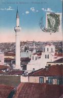 Grèce, Salonique Mousque Du St + Timbres Taxe Suisse 10ct (17.5.1921) - Grecia