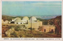 ISRAEL  MERON   THE SYNAGOGUE OF R.SIMON BAR JOHAI  1955 - Israel