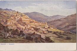 ISRAEL - NAZARETH- General View  OLD POSTCARD - Uncirculated - Israel