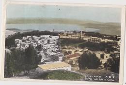 ISRAEL  SAFAD  With Lake Of Galilee  Circulated 1956 - Israel
