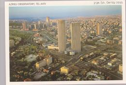 ISRAEL  TEL AVIV  AZRIELY OBSERVATORY - General View -uncirculated Perfect Shape (17 X 11.5 Cm) - Israel