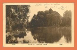 A715 / 107 67 - STRASBOURG Gruss Vom Fuchs Am Buckel ( Timbre Cachet ) - Strasbourg