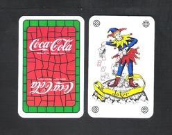 JOKER SPEELKAART - DOS D'UNE CARTE A JOUER - COCA - COLA  (113) - Barajas De Naipe