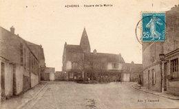 - 78 - ACHERES. - Square De La Mairie - Cpa, Rare, Très Bon état - - Acheres