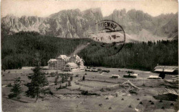 Karerseehotel Gegen Latemar (2807) * 22. 2. 1914 - Italia