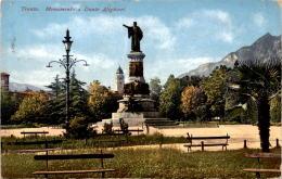 Trento - Monumento A Dante Alighieri (11529) * 12. IX. 1914 - Trento