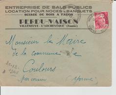 Enveloppe 1936 - France