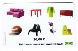 Geschenkkarte Ikea  Gift  Frankreich - Gift Cards