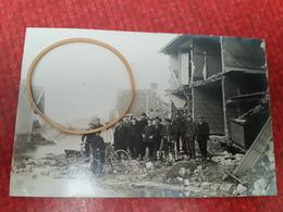 Juvigny Belle Carte Photo Maison Du Curé Aprés L'inondation Du 29 Janvier 1910 - Autres Communes